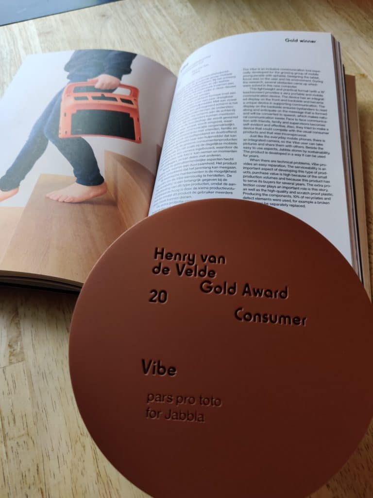 Vibe Gold Consumer Award