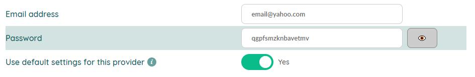 Yahoo e-mail - step 3.